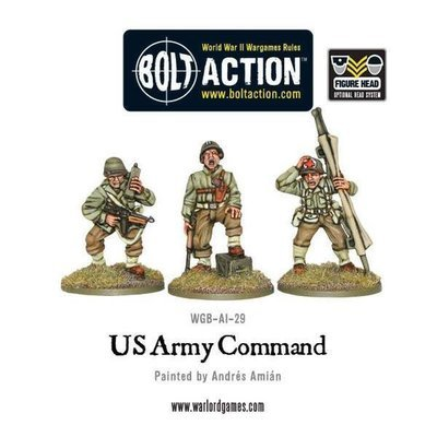 US Army Command - Bolt Action - Warlord Games