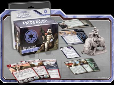 Captain Terro • Schurken-Pack ( Imperial) DEUTSCH - Star Wars: Imperial Assault - deutsch