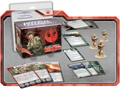 Ranger der Rebellen (Verbündete) - Star Wars: Imperial Assault - deutsch