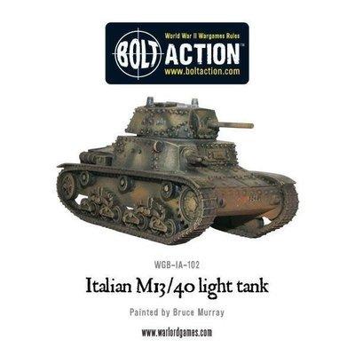 Italian Tank M13/40 Carro Armato - Allies - Bolt Action