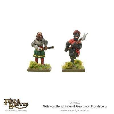 Götz Von Berlichingen & Georg Von Frundsberg - Pike & Shotte - Warlord Games