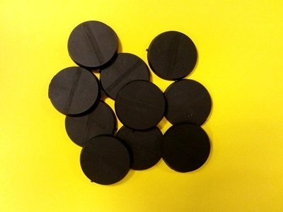 32mm Bases rund  - (10 Stk.)