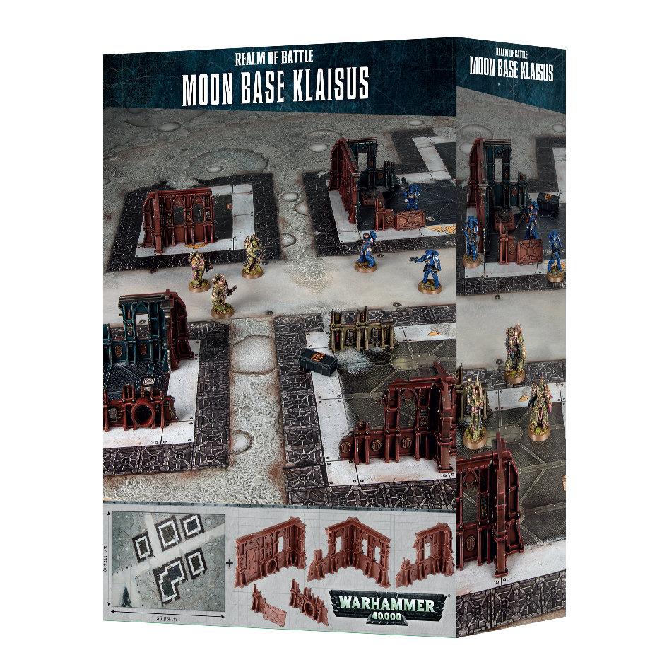 REALM OF BATTLE: MOON BASE KLAISUS - Warhammer 40.000 - Games Workshop