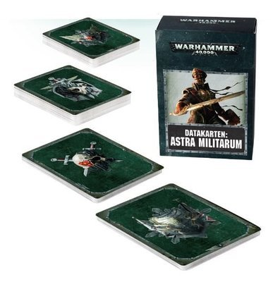 Datakarten: Astra Militarum (Data Cards) - Warhammer 40.000 - Games Workshop