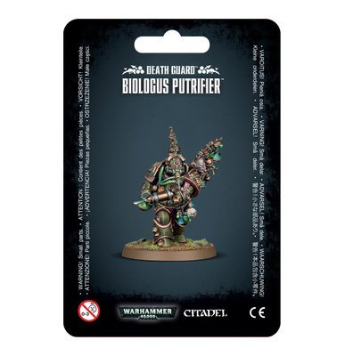 DEATH GUARD BIOLOGUS PUTRIFIER - Warhammer 40.000 - Games Workshop