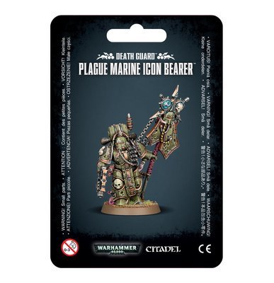 DEATH GUARD PLAGUE MARINE ICON BEARER - Warhammer 40.000 - Games Workshop