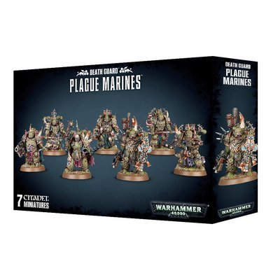 DEATH GUARD PLAGUE MARINES - Warhammer 40.000 - Games Workshop