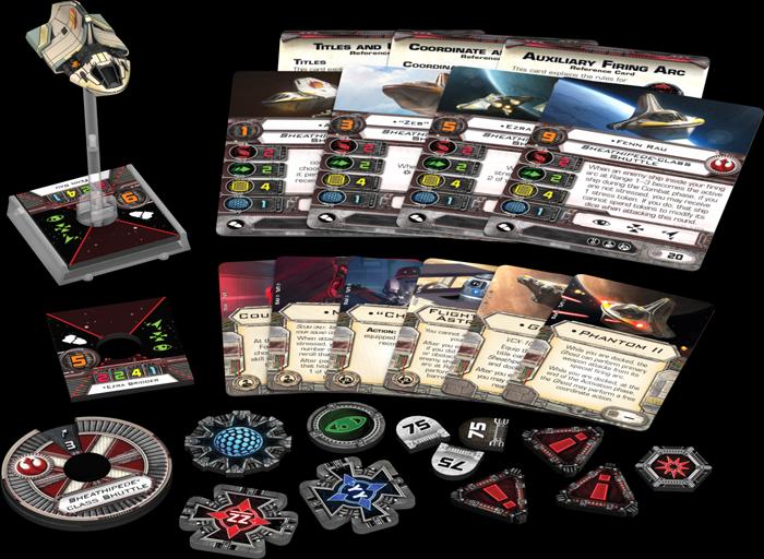 Star Wars: X-Wing - Phantom II Erweiterung Phantom 2 - Pack Deutsch