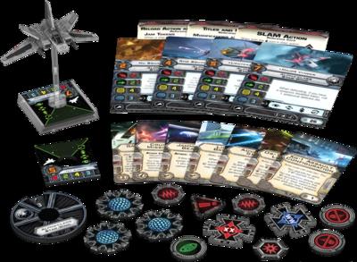 Star Wars X-Wing: Sternflügler der Alpha-Klasse • Erweiterung-Pack DEUTSCH