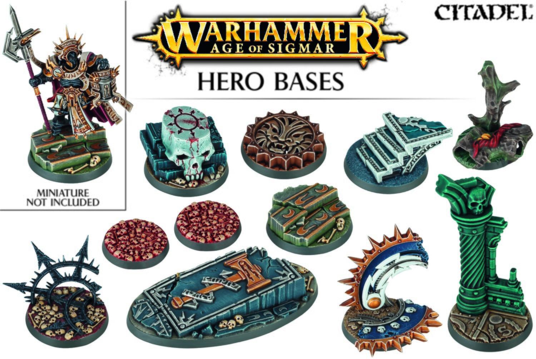 Age of sigmar Hero Bases - Games Workshop