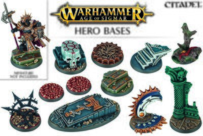 Age of sigmar Hero Bases - Games Workshop