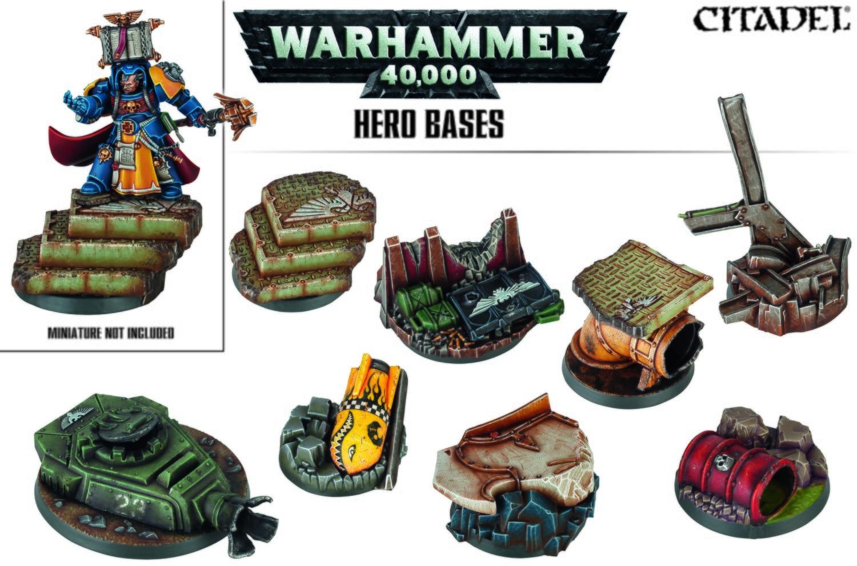Warhammer 40,000 Hero Bases - Games Workshop