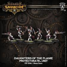 Daughters of the Flame Unit - Warmachine