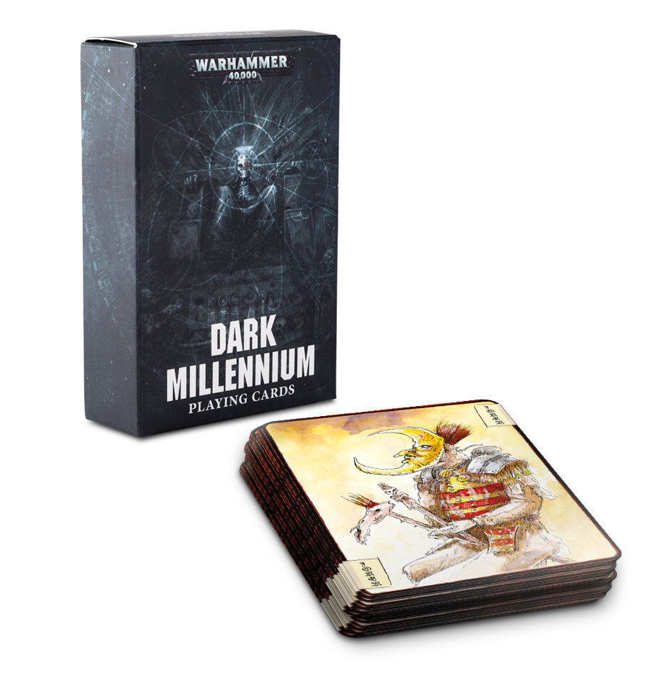 Dark-Millenium-Spielkarten (Englisch) Playing Cards Jass Poker - Citadel - Games Workshop