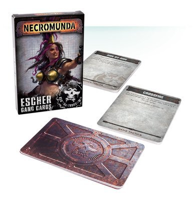 Necromunda Escher Gang Cards (Englisch) - Games Workshop