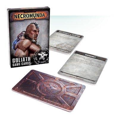 Necromunda Gang-Karten: Goliath - Games Workshop