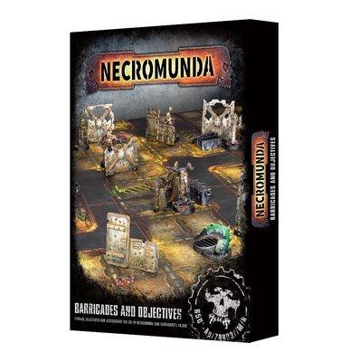 Necromunda: Barricades and Objectives - Games Workshop