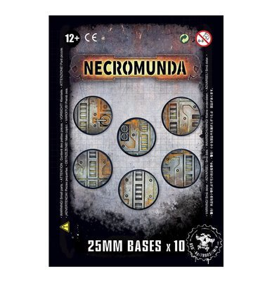 Necromunda-Bases (25 mm) - Games Workshop