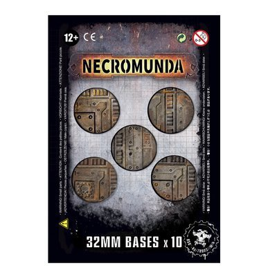 Necromunda-Bases (32 mm) - Games Workshop