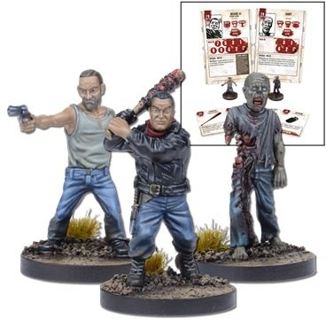 Negan Booster - The Walking Dead - Mantic Games