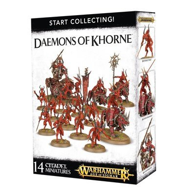 START COLLECTING! Daemons of Khorne - Warhammer Age of Sigmar - Games Workshop