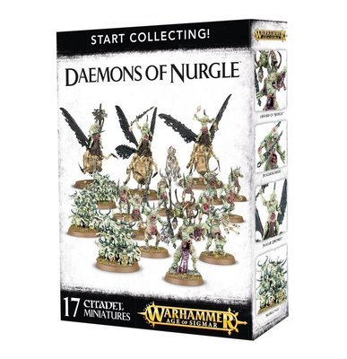 START COLLECTING! Daemons of Nurgle - Warhammer Age of Sigmar- Games Workshop