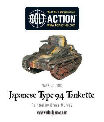 Japanese Type 94 Tankette - Bolt Action