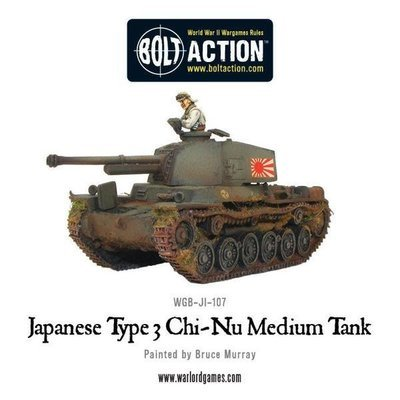 Japanese Type 3 Chi-Nu medium tank - Bolt Action