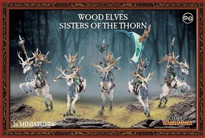 MO: WOOD ELVES SISTERS OF THE THORN - Warhammer Age of Sigmar- Games Workshop
