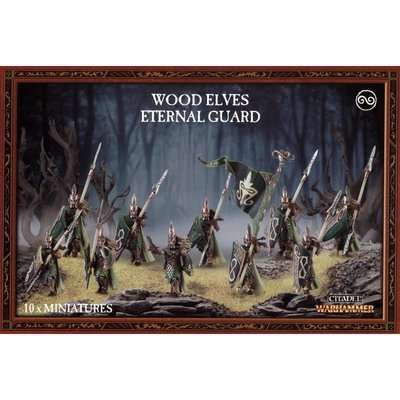MO: WOOD ELVES ETERNAL GUARD - Warhammer Age of Sigmar- Games Workshop
