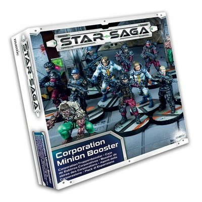 Star Saga Corporation Minion Booster English - Mantic Games