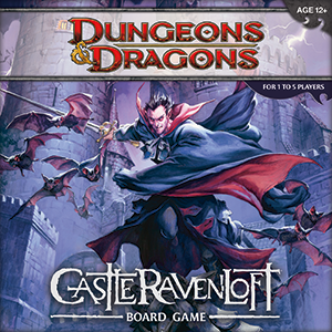 D&D Dungeons and Dragons - Castle Ravenloft Board Game