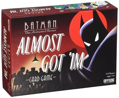 Batman Almost Got Im Card Game (8 Player) - Cryptozoic