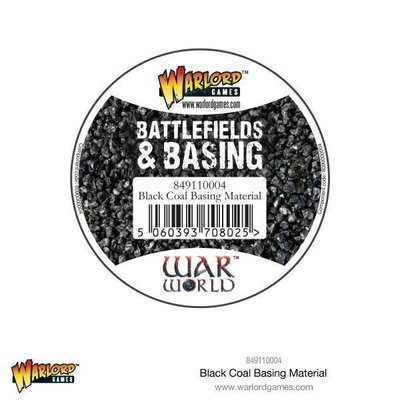 Black Coal Basing Material - Warlord Scenics - Warlord Games
