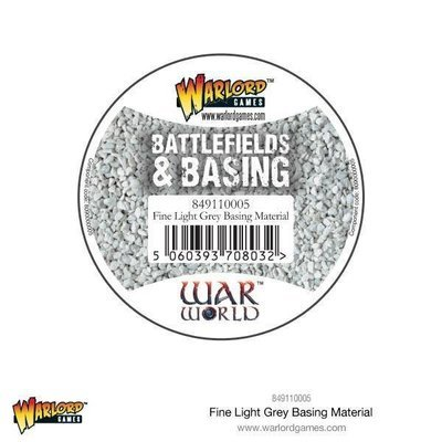 Fine light Grey Basing Material - Warlord Scenics - Warlord Games