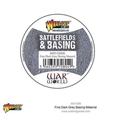 Fine Dark Grey Basing Material - Warlord Scenics - Warlord Games