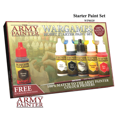 Warpaints Starter Paint Set - Army Painter Warpaints