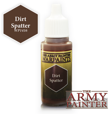 Dirt Splatter - Army Painter Warpaints