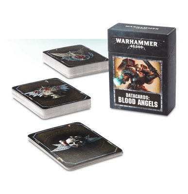 DATACARDS: BLOOD ANGELS (ENGLISH) - Warhammer 40.000 - Games Workshop