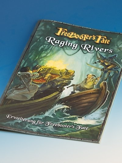 Raging Rivers, Deutsch Erweiterungsbuch - Freebooter's Fate - deutsch