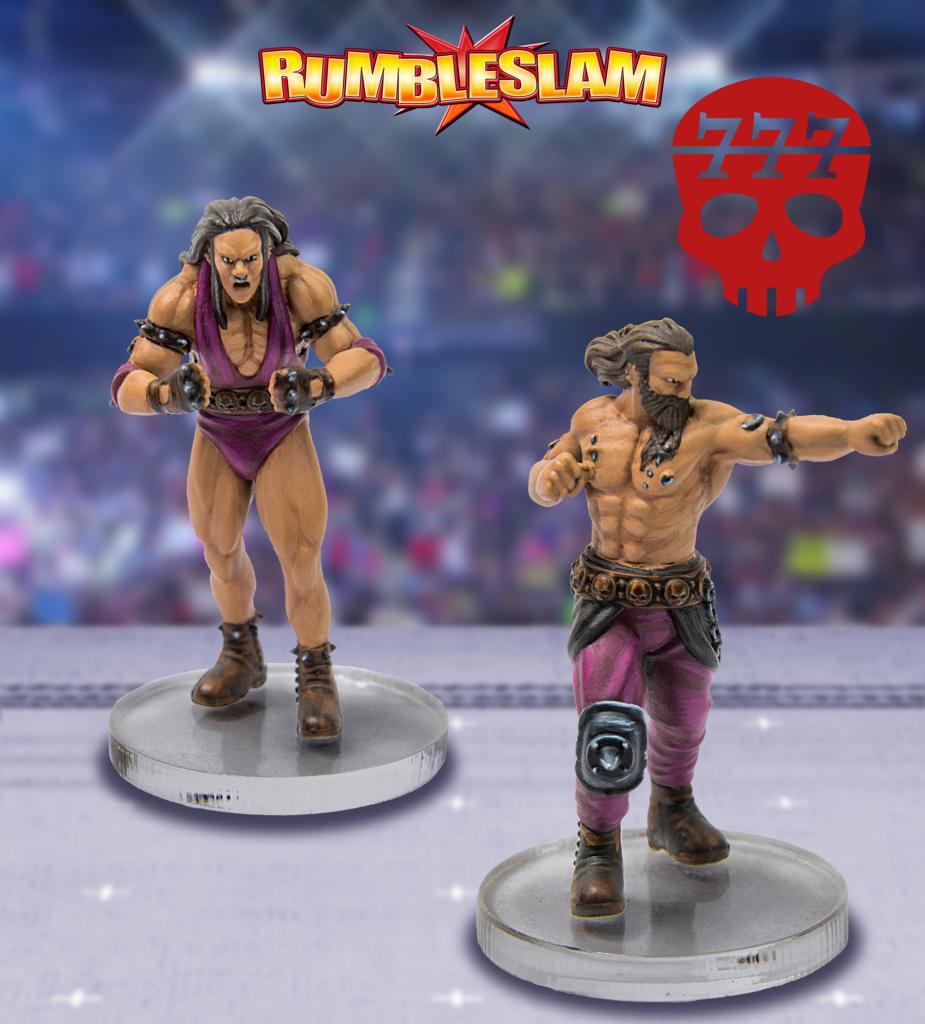 Barbarian Brawler & Barbarian Grappler - RUMBLESLAM Wrestling