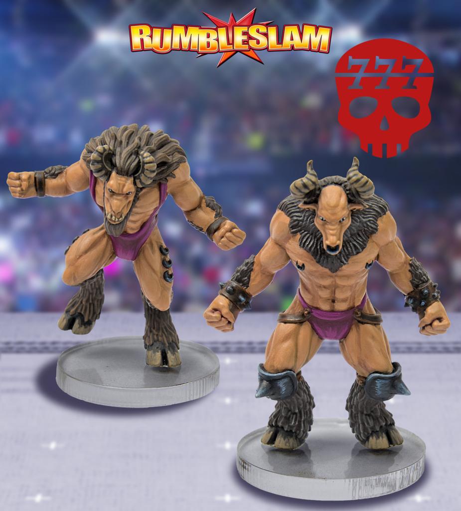 Goatman Brawler & Goatman Grappler - RUMBLESLAM Wrestling