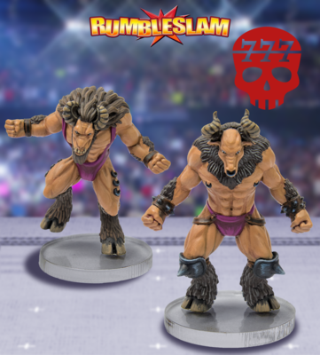 Goatman Brawler & Goatman Grappler - RUMBLESLAM Wrestling