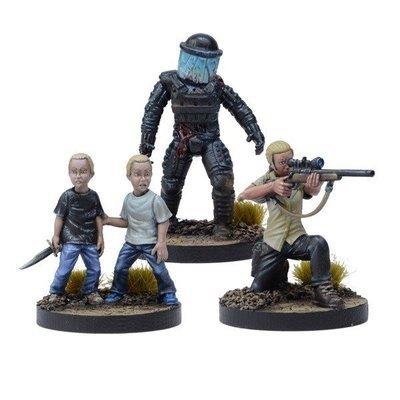 Andrea Prison Sniper Booster - The Walking Dead - Mantic Games