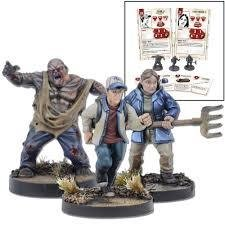 Glenn Booster - The Walking Dead - Mantic Games