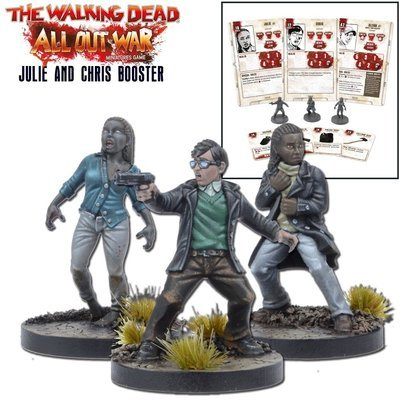 Julie and Chris Booster - The Walking Dead - Mantic Games