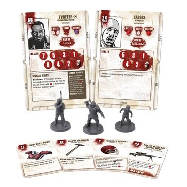 Tyreese Booster - The Walking Dead - Mantic Games