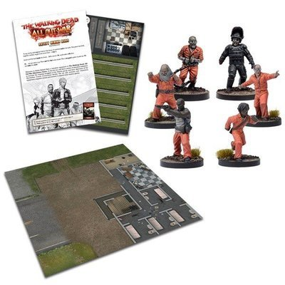 Safety Behind Bars Expansion - The Walking Dead - Mantic Games