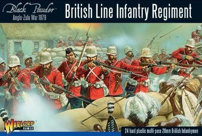 Anglo-Zulu War: British Line Infantry Regiment - Black Powder - Warlord Games