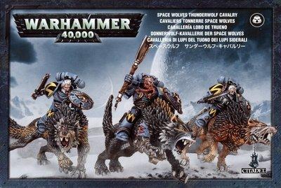 Thunderwolf Cavalry Space Wolves - Warhammer 40.000 - Games Workshop